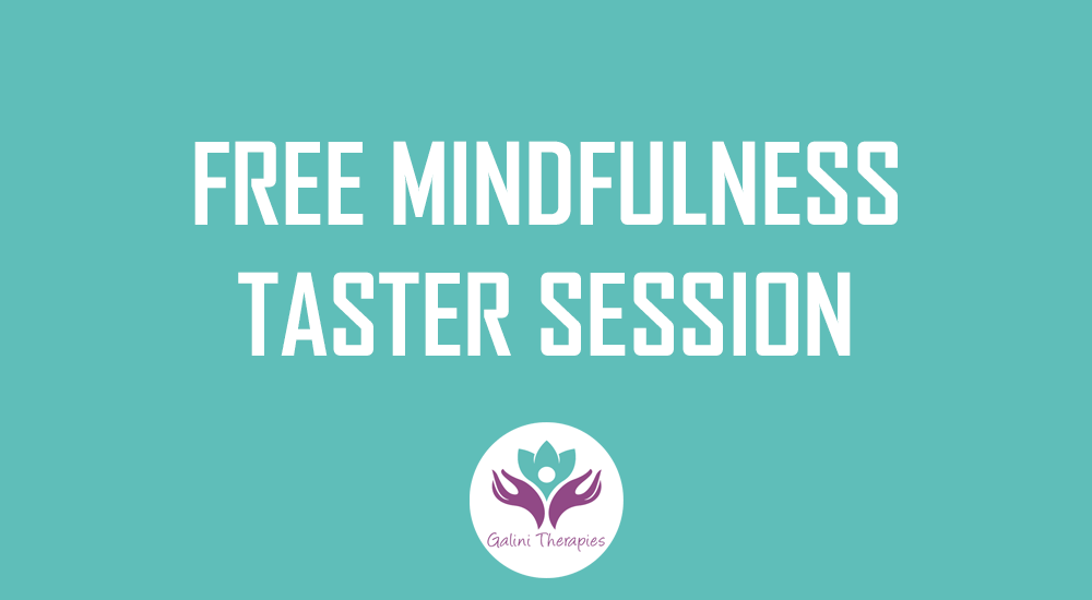 Free 1-2-1 Mindfulness Taster Session